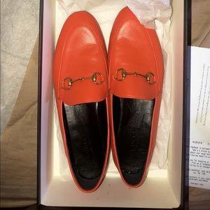 Orange Gucci flats size 39.5